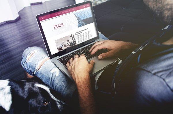 Webdesign für Edus-Gebäudeservice - Fitnessstudioreinigung aus Hannover