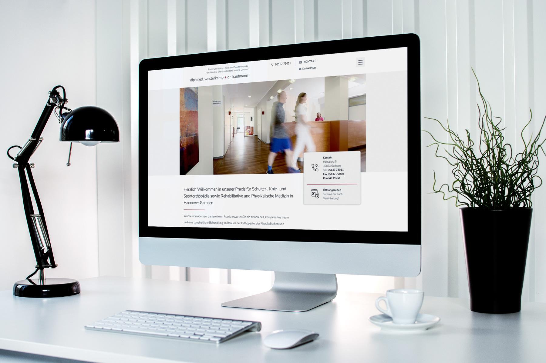 Webdesign für die Arztpraxis aus Hannover