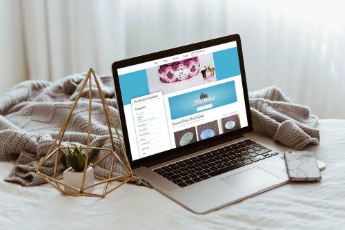Webdesign für den Shop - Der besondere Bastelladen