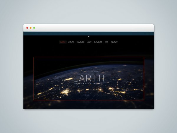 EARTH - RapidWeaver Foundation Project