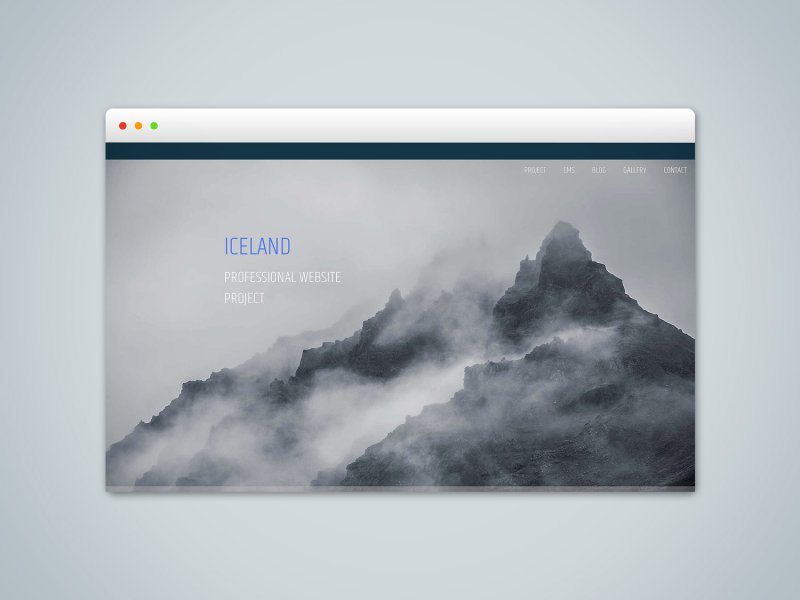 Iceland - RapidWeaver Foundation Project