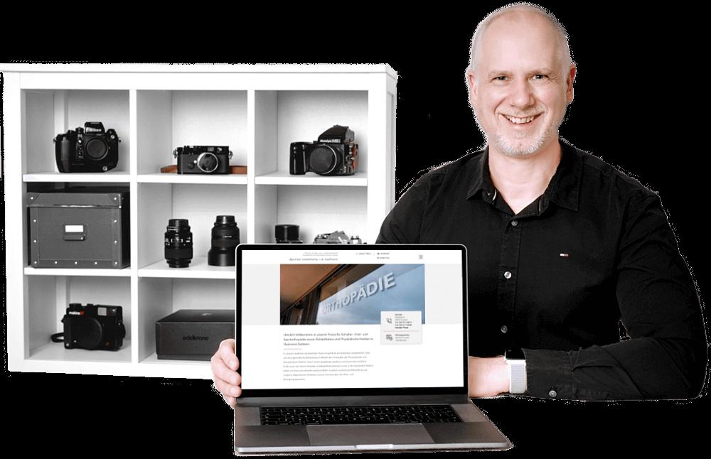 Webdesigner und Fotograf Jochen Abitz