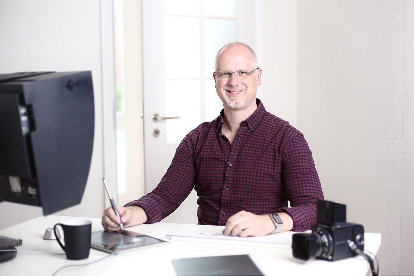 Webdesigner und Fotograf Jochen Abitz aus Barsinghausen bei Hannover